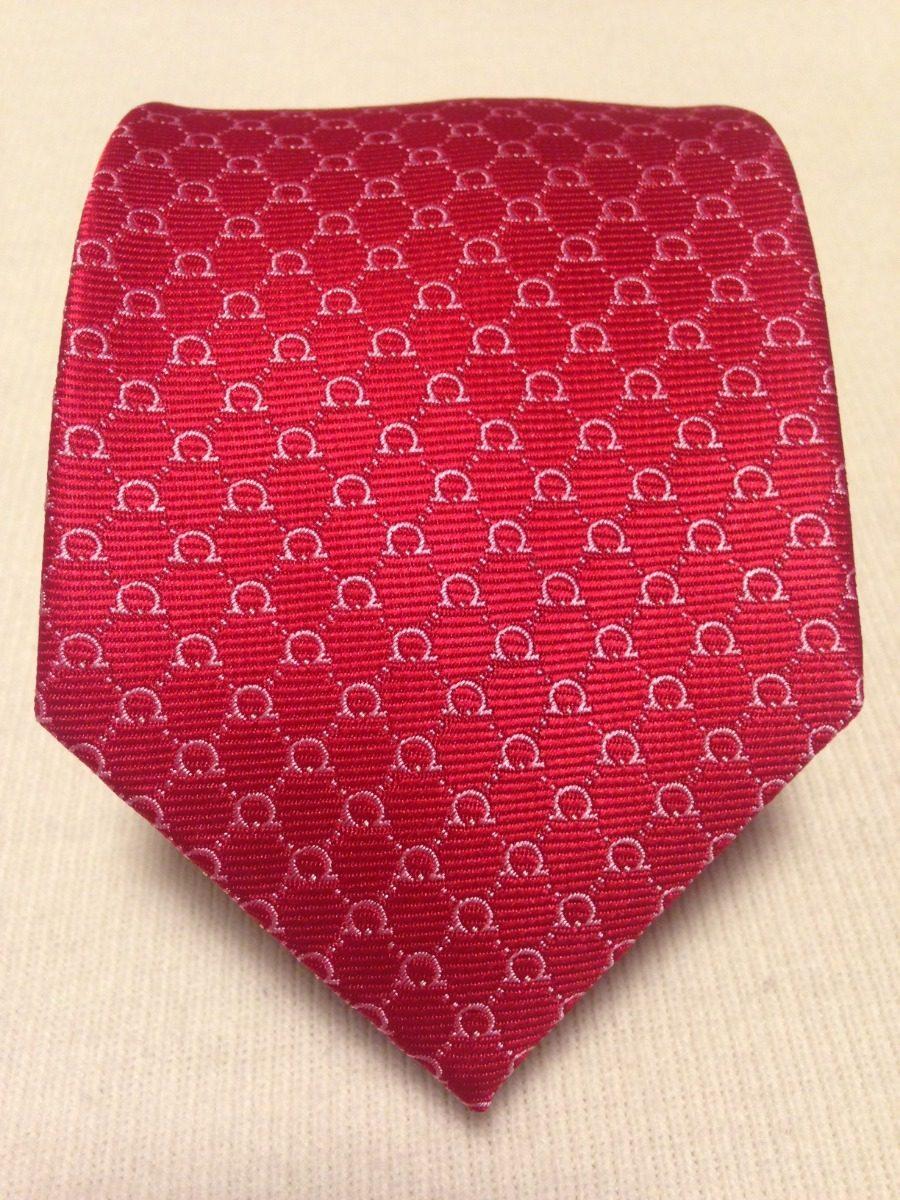 Gravata Salvatore Ferragamo Vermelho - R  260,00 em Mercado Livre a8506d8348