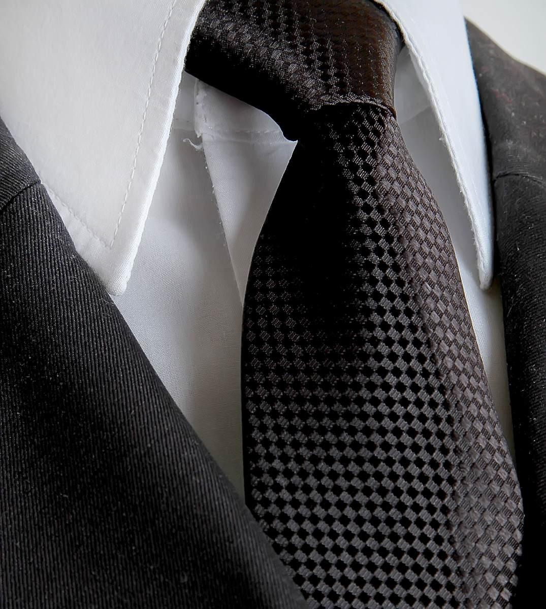 d9336016257 gravata social preta semi slim - formatura  casamento. Carregando zoom.