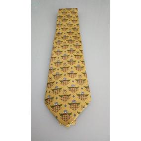 ea7c21a043d65 Gravata Estampada Desenho - Gravatas Masculinas Amarelo no Mercado ...