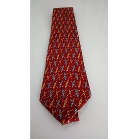 1e2c71aefec2a Gravata Salvatore Ferragamo Vermelha Estampada - Calçados