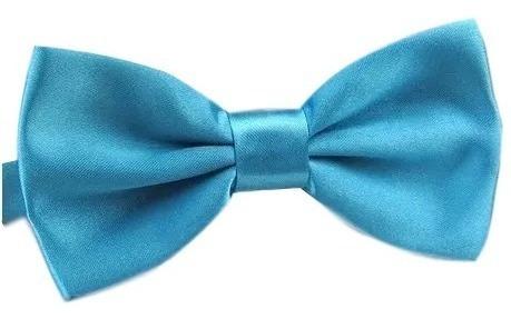 gravatas borboleta c/ regulador infantil azul tifany ref:247