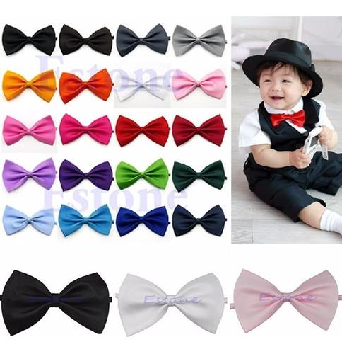 gravatas borboleta com regulador, infantil 20 cores. ref:247