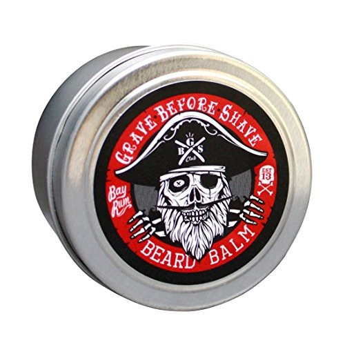 grave before shave bay rum beard balm