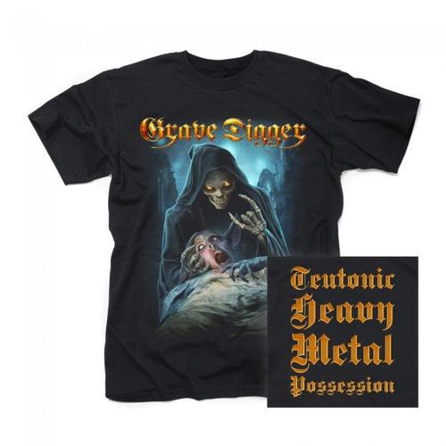 grave digger-teutonic heavy metal possession /t-shirt import