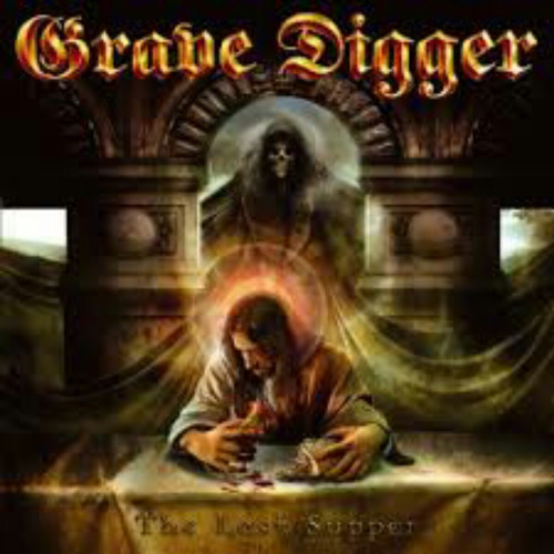grave digger - the last supper a0138