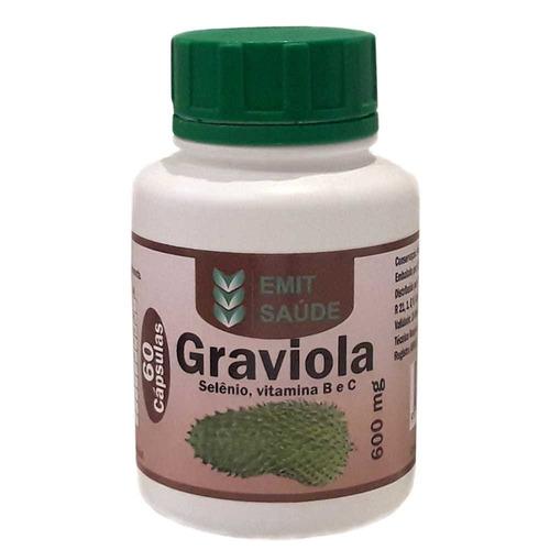 graviola 96 potes com 60 cap - 600 mg - atacado