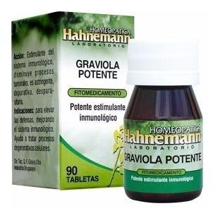 graviola potente - estimulante inmunológico (180 tabletas)