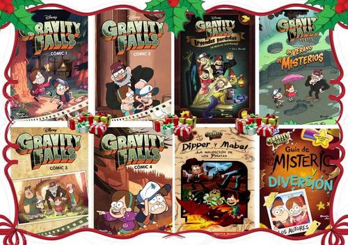 gravity fall saga completa - disney / planeta jr. (8 libros)