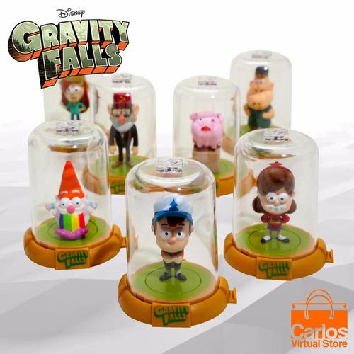 gravity falls - 8 muñecos coleccionables edición limitada