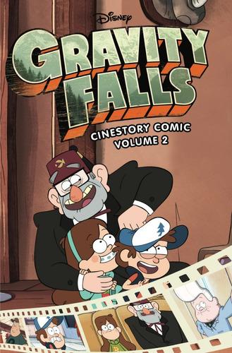 gravity falls coleccion comics 1 2 3 y 4 español / diverti