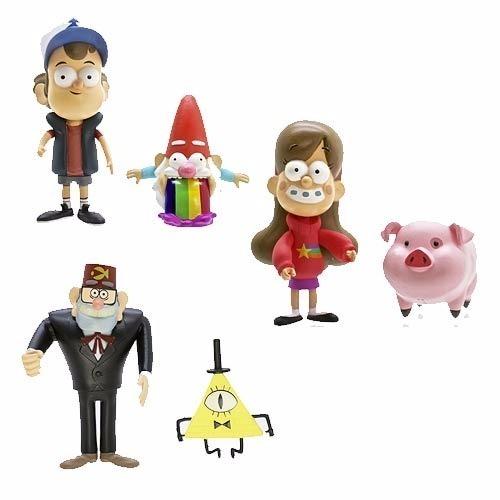 Gravity Falls Coleccion Figuras Personajes 4 999 99