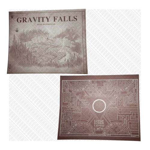 gravity falls combo diario 3 español + gorra + peluche pato
