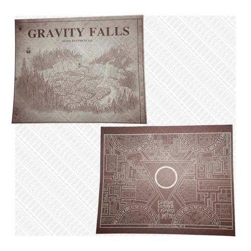 gravity falls combo diario 3 español mapas + gorra dipper