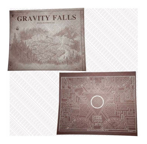 gravity falls combo diario 3 tinta invisible + lampara gorra