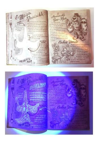 gravity falls diario 1 2 y 3 lampara tinta invisible mapas