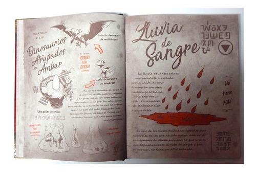 gravity falls diario 2 español pasta dura + lampara pluma