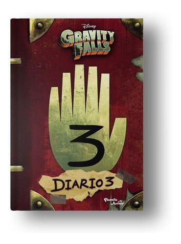 gravity falls. diario 3 - disney - planeta junior
