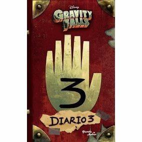gravity falls diario 3, en español 100% original
