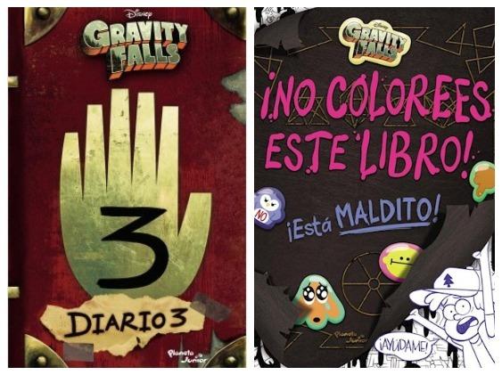 Gravity Falls Diario 3 Libro Para Colorear 2 Libros 68000