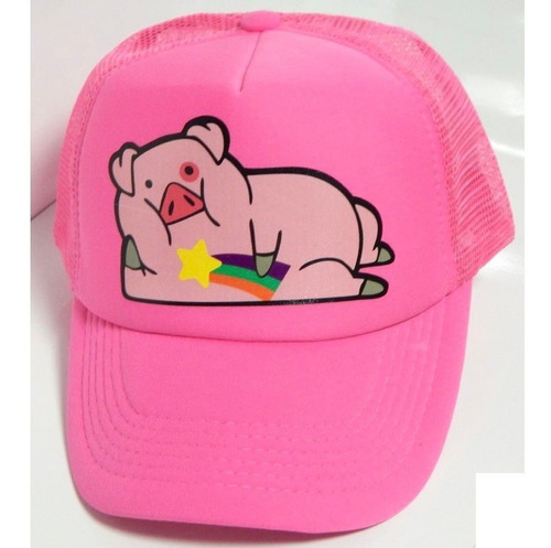 gravity falls gorra trucker pato waddles mabel ajustable