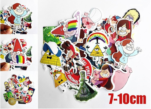 gravity falls set 25 stikers