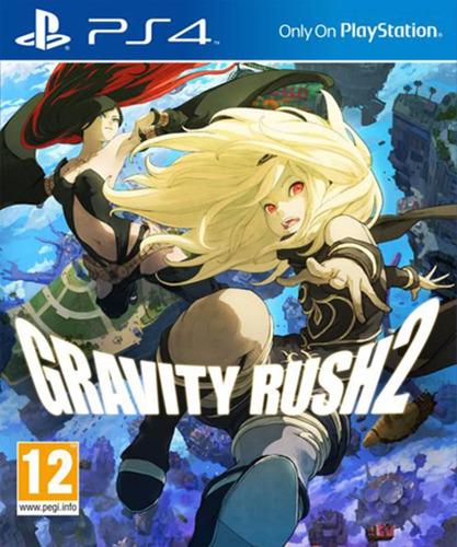 gravity rush 2 ps4 fisico - audiojuegos