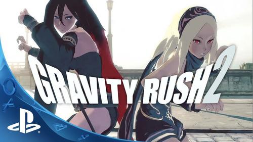 gravity rush 2 ps4 juegos en disco fisico nuevos de paquete