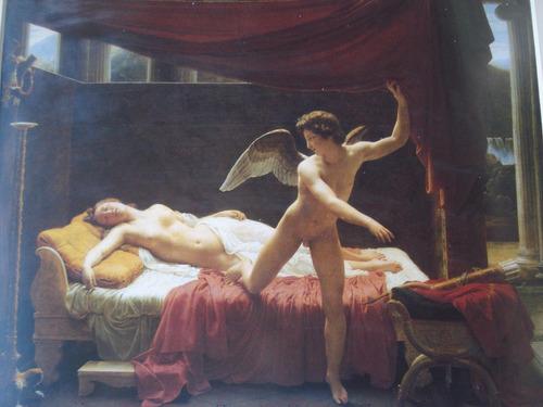 gravura francesa - eros e psyché