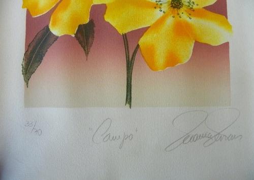 gravura litografia - marcia novaes - 28x28 ag302