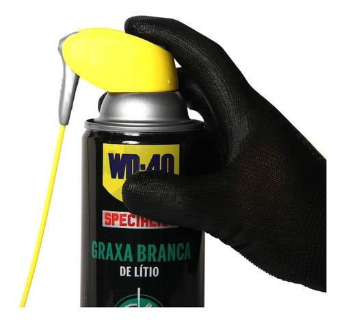 graxa branca de lítio aerosol wd40 400ml multiuso
