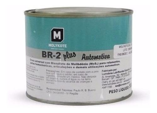 graxa molykote br-2 plus br2 500g bissulfato de molibidênio