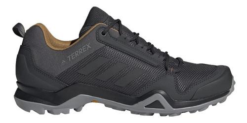 gray - 10.0 - zapato terrex ax3 hombre