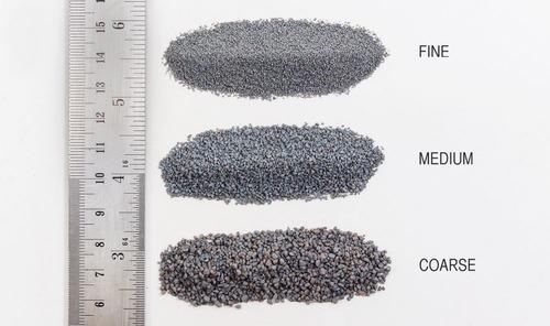 gray blend medium ballast (32 oz. shaker) woodland scenics