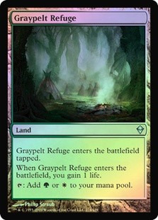 graypelt refuge x 2 mtg foil