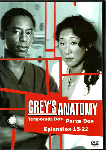 gray's anatomy                   segunda temporada