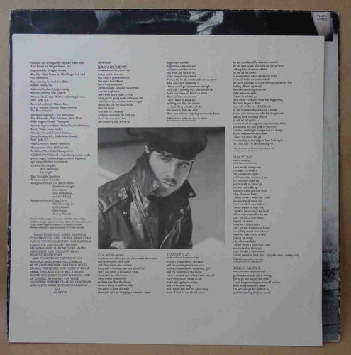 grayson hugh lp nacional usado blind to reason 1989 encarte