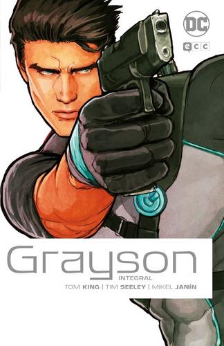 grayson integral nightwing - dc ecc comics - robot negro