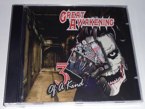 great awakening 3 of a kind cd thrash metal usa