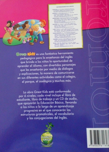 great kids student book 1 con cd nuevo