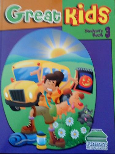 great kids student book 3 con cd nuevo