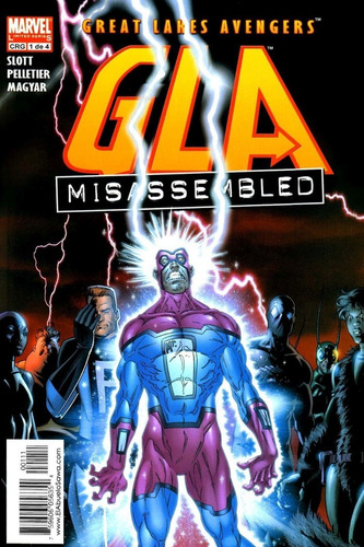 great lake avengers: misassembled   comic completo   digital