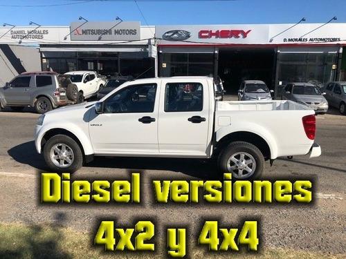 great wall wingle 5 diesel 4x4 d.cabina 2.000 cc. año 2018