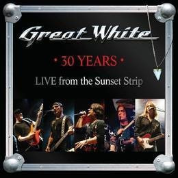 great white 30 years live from sunset strip cd nuevo