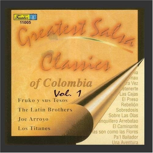greatest salsa classics of colombia - vol. 1