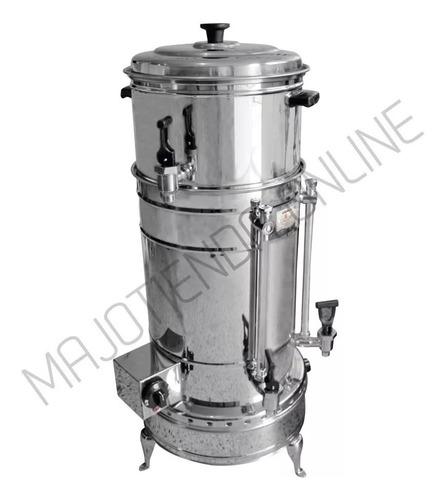 greca cafetera para 120 tintos mixta (eléctrica y gas)