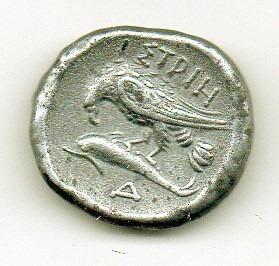 grécia antiga-réplica-istros stater greece 400-320  ac