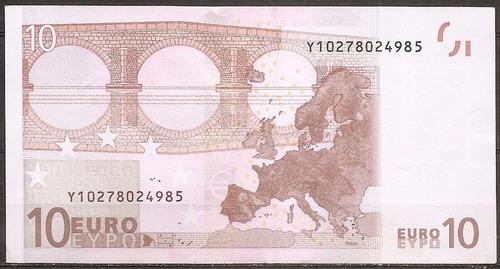 grecia billete 10 euros 1er diseño 2002 y10278024985