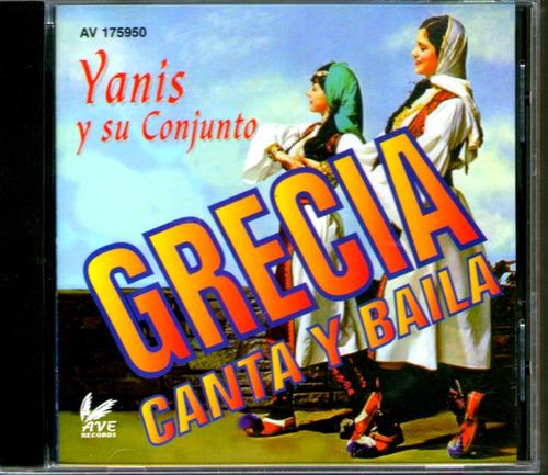 grecia canta y baila - cd