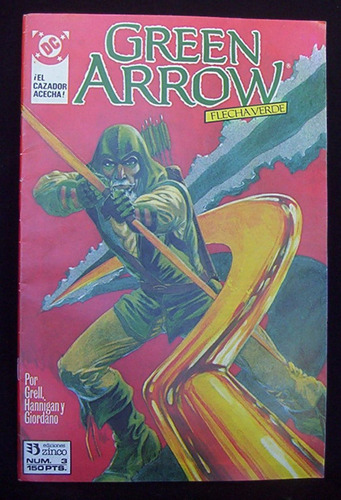 green arrow 3 flecha verde el cazador acecha dc comics zinco