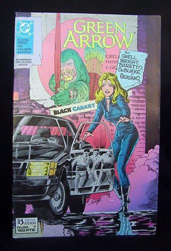 green arrow 7 flecha verde el cazador acecha dc comics zinco